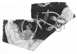 Εικ. 31. Firenze. Museo Archeologico Naxionale. Μάθημα λύρας.
