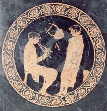Εικ. 9. Melbourne, Victoria National Gallery 1644/4, π. 450 πΧ. Σχολικό μάθημα.
