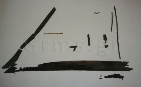 Εικ. 2. Άρπα Δάφνης: τα τμήματα πριν την ανασυγκρότηση (φωτ. Τ. Παναγοπούλου).