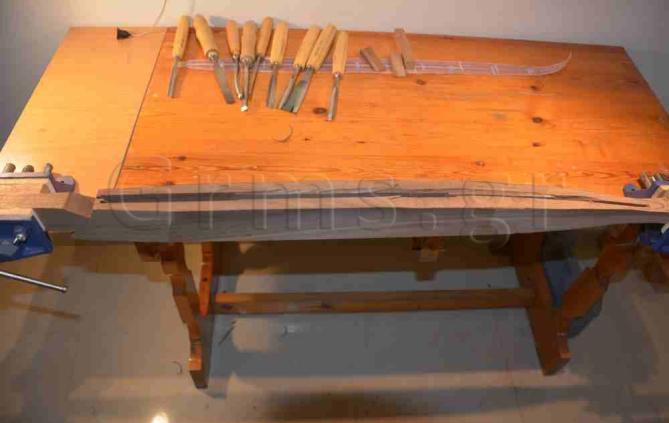 Εικ. 31. Εργαστήριο: κατασκευή ηχείου, αρχικό στάδιο.